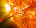 3D Model of Solar Flares Help Predict Space Weather